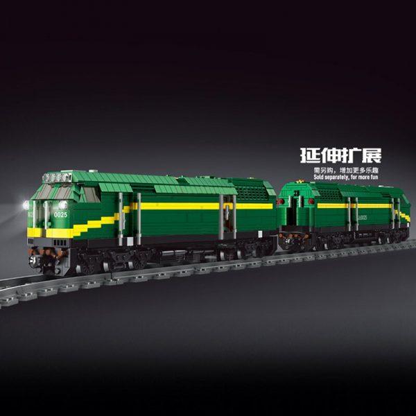 Mould King 12001 City Series The Nj2 Diesel Locomotives Remote Control Truck Building Blocks Bricks Kids 2