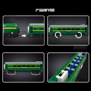 Mould King 12001 City Series The Nj2 Diesel Locomotives Remote Control Truck Building Blocks Bricks Kids 3