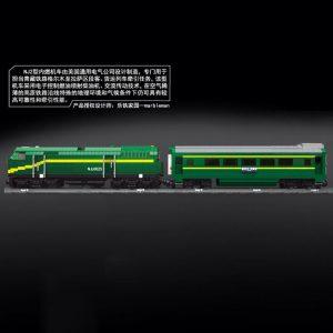 Mould King 12001 City Series The Nj2 Diesel Locomotives Remote Control Truck Building Blocks Bricks Kids 5