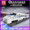 Mould King 12002 City World Railway The Crh2 High Speed Train Remote Control Train Building Blocks