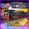 Mould King 12003 City Series The Qj Steam Locomotives Remote Control Train Building Blocks Bricks Kids