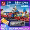 Mould King 12004 City Series The Mkingland Dream Train Remote Control Train Building Blocks Bricks Kids