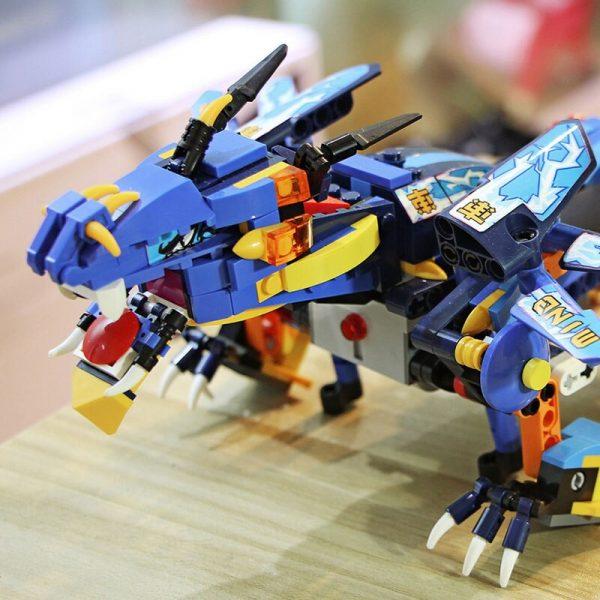 Mould King 13018 App Rc Technic Ninjaoes Dragon Knight Model Building Blocks 70602 Bricks Toys For 4