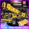 Mould King 13107 Technic Series Motor Power Mobile Crane Mk Ii Model Kits Model Building Blocks