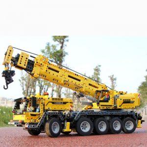 Mould King 13107 Technic Series Motor Power Mobile Crane Mk Ii Model Kits Model Building Blocks 3