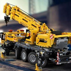 Mould King 13107 Technic Series Motor Power Mobile Crane Mk Ii Model Kits Model Building Blocks 5