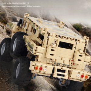 Mould King 13131 Marauder Truck App Rc Motor Compatible Techinic Series Moc 23007 Model Building Blocks 3