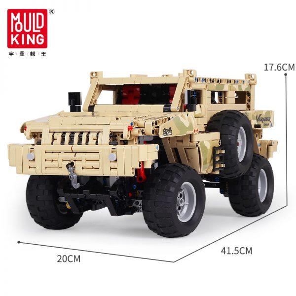 Mould King 13131 Marauder Truck App Rc Motor Compatible Techinic Series Moc 23007 Model Building Blocks 5