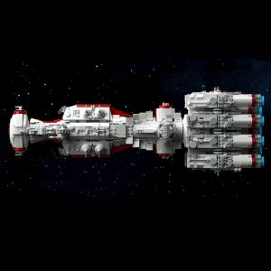 Mould King 21003 Star Plan Mortesv S Cr 90 Corellian Corvette Blocksade Runner Model Tantive Iv 1