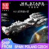 Mould King 21003 Star Plan Mortesv S Cr 90 Corellian Corvette Blocksade Runner Model Tantive Iv