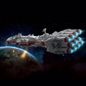 Mould King 21003 Star Plan Mortesv S Cr 90 Corellian Corvette Blocksade Runner Model Tantive Iv 2