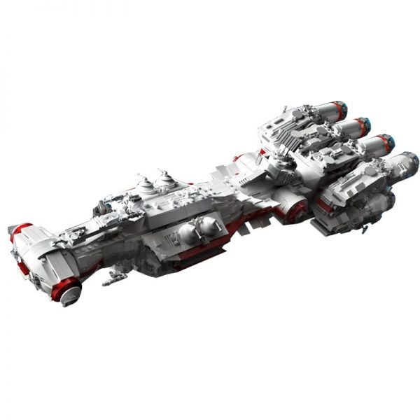 Mould King 21003 Star Plan Mortesv S Cr 90 Corellian Corvette Blocksade Runner Model Tantive Iv 5
