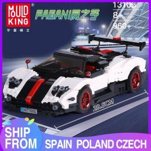 Mould King Creaative Idea Technic Series Series Paganis Zonda Cinque Roadster Model Building Blocks Bricks 13105