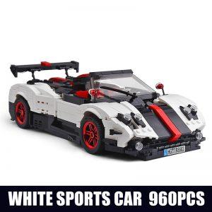 Mould King Creaative Idea Technic Series Series Paganis Zonda Cinque Roadster Model Building Blocks Bricks 13105 5