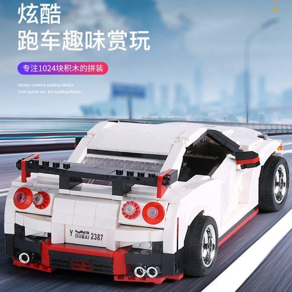 Mould King Creative Series Technic Nismo Nissan Gtr R35 Speed Racing Sport Car Model Building Blocks 2