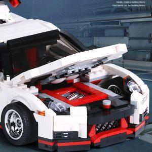 Mould King Creative Series Technic Nismo Nissan Gtr R35 Speed Racing Sport Car Model Building Blocks 4