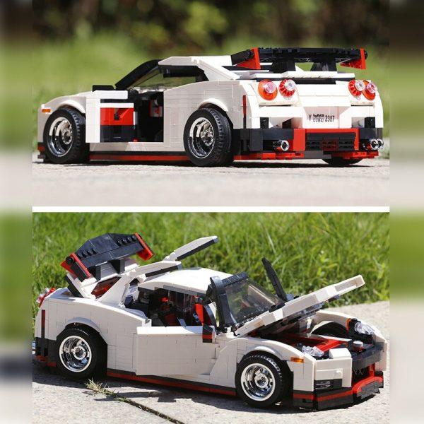 Mould King Creative Series Technic Nismo Nissan Gtr R35 Speed Racing Sport Car Model Building Blocks 5