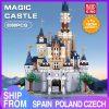 Mould King Girl Friends The Moc 13132 Princess Disneys Castle Model Building Blocks Bricks With 71040