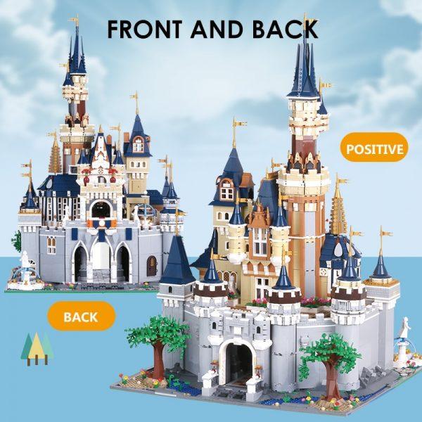 Mould King Girl Friends The Moc 13132 Princess Disneys Castle Model Building Blocks Bricks With 71040 3