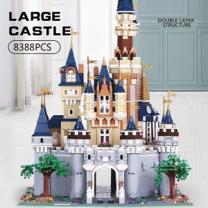 Mould King Girl Friends The Moc 13132 Princess Disneys Castle Model Building Blocks Bricks With 71040 4