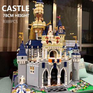 Mould King Girl Friends The Moc 13132 Princess Disneys Castle Model Building Blocks Bricks With 71040 5