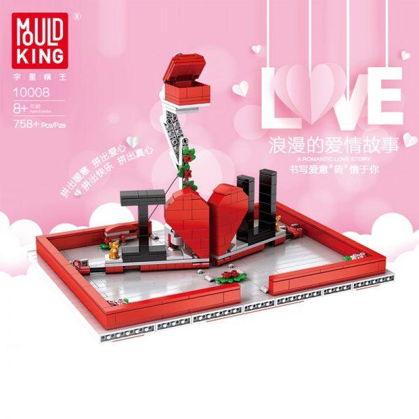 Mould King Jk Love 520 Creative Toys The Romantic Story Book Model Building Blocks Bricks Toys 1