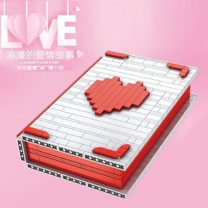 Mould King Jk Love 520 Creative Toys The Romantic Story Book Model Building Blocks Bricks Toys 3