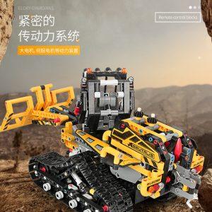 Mould King Moc 13034 13035 Technic Series Motor Motorized Tracked Loader Set Rc Model Building Blocks 2