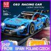 Mould King Moc 13073 Technic Series Benzs Amg C63 Sport Racing Car Model Building Blocks Bricks