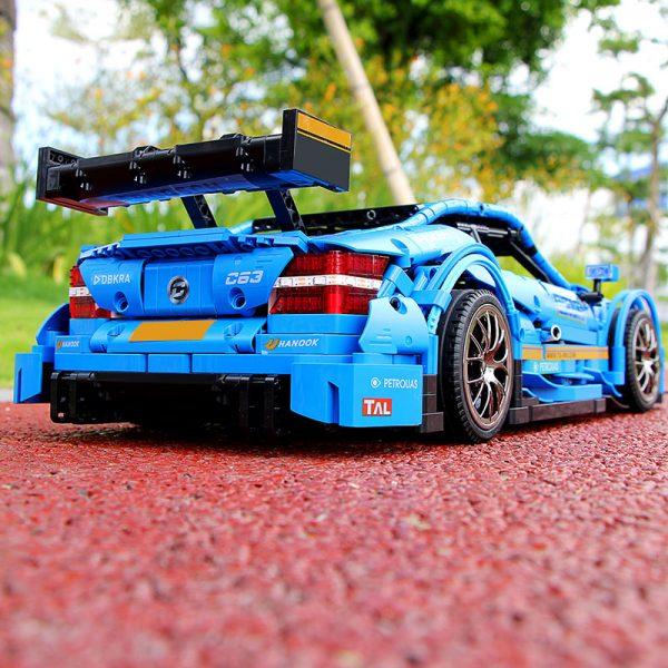 Mould King Moc 13073 Technic Series Benzs Amg C63 Sport Racing Car Model Building Blocks Bricks 3
