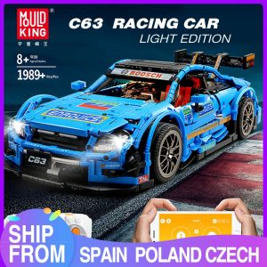 Mould King Moc 13073 Technic Series Benzs Amg C63 Sport Racing Car Model Building Blocks Bricks