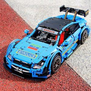 Mould King Moc 13073 Technic Series Benzs Amg C63 Sport Racing Car Model Building Blocks Bricks 4