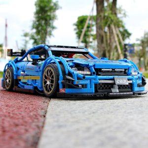 Mould King Moc 13073 Technic Series Benzs Amg C63 Sport Racing Car Model Building Blocks Bricks 5