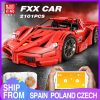 Mould King Moc 13085 Technic Series Ferraried Fxx F40 Enzo Sports Car Model Building Blocks Bricks