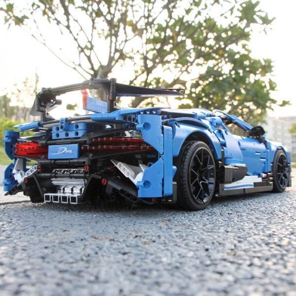 Mould King Moc 13125 Technic Series Bugattis Chiron Sport Racing Car Model Building Blocks Bricks Compatible 5