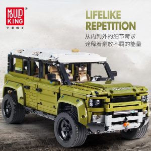 Mould King Moc 13175 Technic Series Land Car Rover Off Road Vehicle Model Building Blocks Bricks 3
