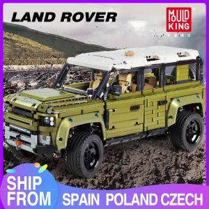 Mould King Moc 13175 Technic Series Land Car Rover Off Road Vehicle Model Building Blocks Bricks