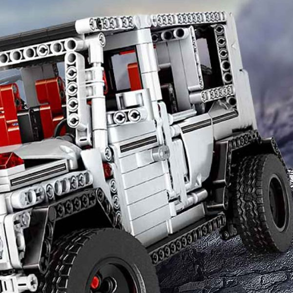 Mould King Moc 20100 Technic Series Benz Suv G500 Awd Wagon Offroad Vehicle Model Building Blocks 10