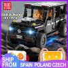 Mould King Moc 20100 Technic Series Benz Suv G500 Awd Wagon Offroad Vehicle Model Building Blocks
