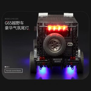 Mould King Moc 20100 Technic Series Benz Suv G500 Awd Wagon Offroad Vehicle Model Building Blocks 2