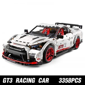 Mould King Moc Technic Series Nismo Nissan Gtr Gt3 Car Model Building Blocks Bricks 13172 Kids 1
