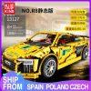 Mould King Moc Technic Series Audis R8 V10 Speed Rs5 Car Model Moc 4463 Building Block