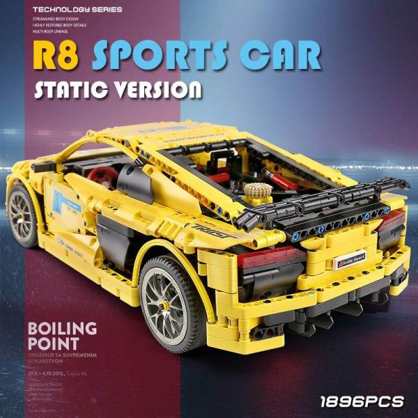 Mould King Moc Technic Series Audis R8 V10 Speed Rs5 Car Model Moc 4463 Building Block 2