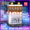 Mould King Moc Street View Light Chaneled Amsterdam Crystal Palace Model Building Blocks Bricks Compatible 16021