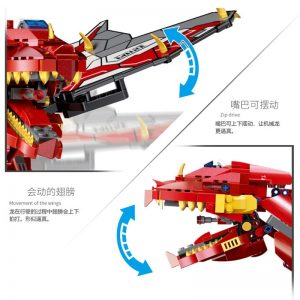 Mould King Technic Eva Car The Moc Ninjagoes Dinosaur Dragon Knight Roadster 13031 Robot Building Blocks 3