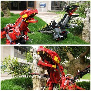 Mould King Technic Eva Car The Moc Ninjagoes Dinosaur Dragon Knight Roadster 13031 Robot Building Blocks 4