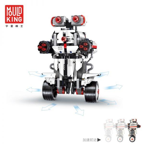 Mould King Technic Idea Mindstorms Programme Remote Control Robot Wall E Model Building Bricks Blocks 31313 1