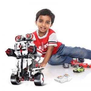 Mould King Technic Idea Mindstorms Programme Remote Control Robot Wall E Model Building Bricks Blocks 31313 2