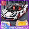 Mould King Technic Moc Mclaren P1 Super Hypercar Veneno Roadster Model Kit Building Blocks 42056 Car