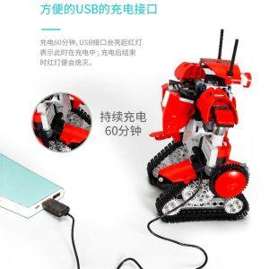 Mould King Technic Robert M2 M1 M3 M4 Set Remote Control Robot Crawler Car Model Building 2